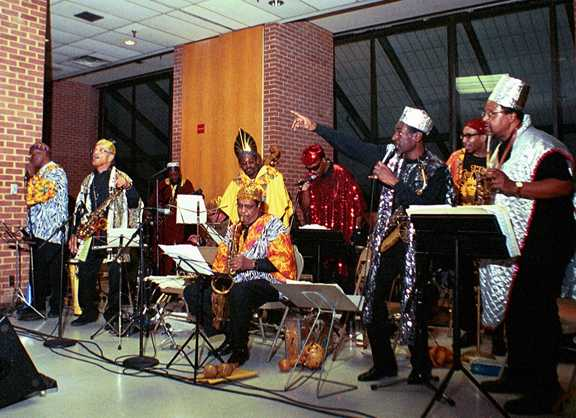 Arkestra at Coppin State, 10-19-03