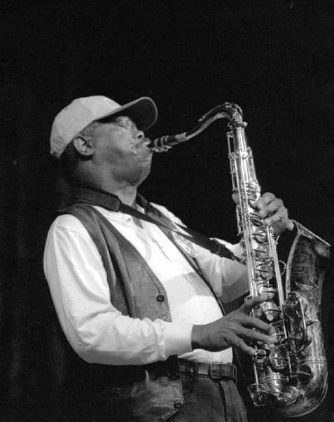 Joe McPhee at the Vision Festival, 1998