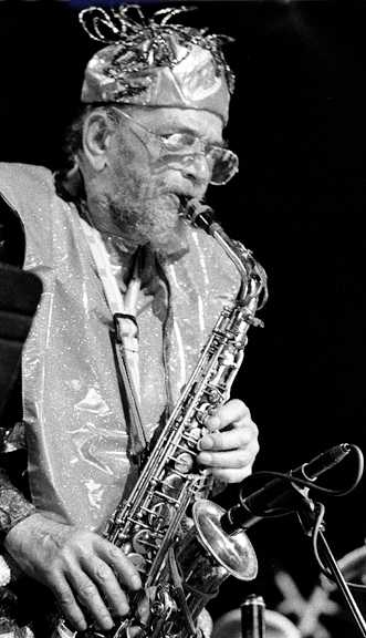 Marshall Allen with Arkestra, May 6, 2000, State Theater