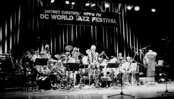 Arkestra at the 1993 DC World Jazz Festival