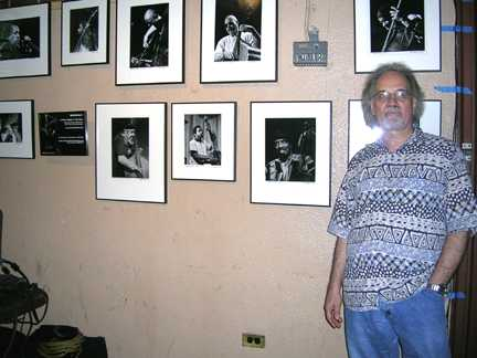 Michael at 2004 photo exhibit